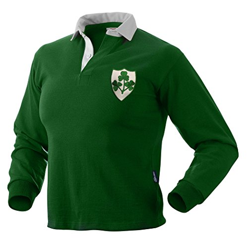 Ireland Old Style Rugby Jersey