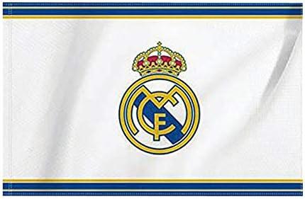 Real madrid c f - Bandera Pequeña Real Madrid CF Nº2: Amazon.es: Deportes y aire libre