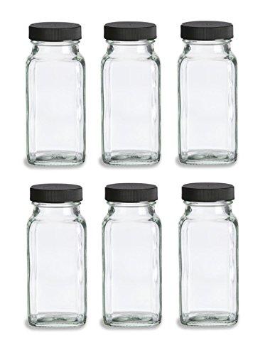spice jars 6oz - 5