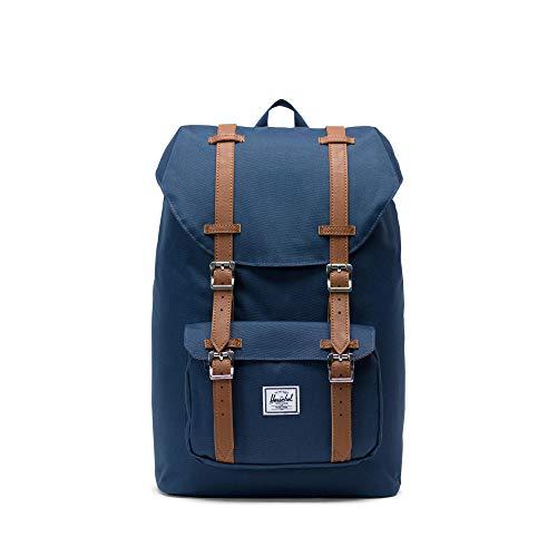 Herschel Little America Mid-Volume Backpack-Navy
