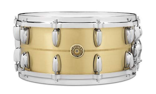 Gretsch Drums GRETSCH G4169BBR 14X6.5 BELL BRASS SNARE DRUM 14 x 6.5 in. Brass