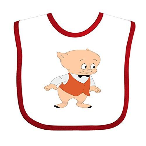 Baby Unisex Infant Porky_Pig Print Bib
