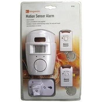 Amazon Com Motion Sensor Alarm 2 Remote Controls Garage
