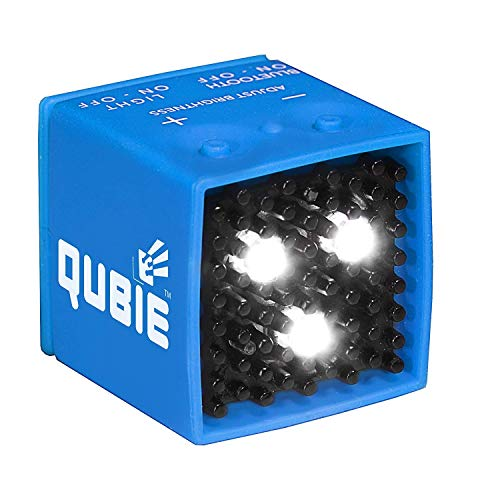 QUBIE - Bluetooth LED Light (Blue) for photography and lighting