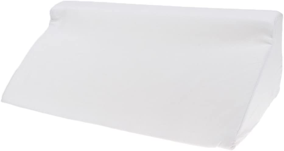 MagiDeal Esponja Cama Almohada De Cuña Soporte Lumbar Almohada Almohada De Elevación De La Pierna