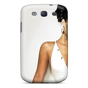 Awesome KMKfgIR3594LIWHj HHaroldshon Defender Tpu Hard Case Cover For Galaxy S3- Alicia Keys Celebrity