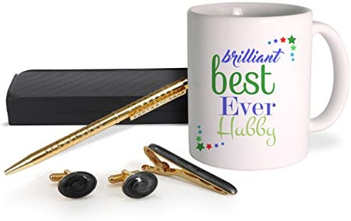 d4901372ca233 Buy TIED RIBBONS Romantic Valentines Gifts for Him Ceramic Mug with Golden  Cufflinks