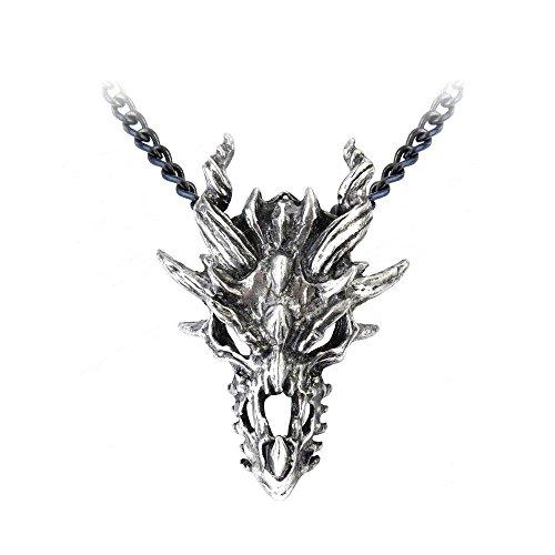 (Dragon Skull Pendant by Alchemy Gothic, England [Jewelry])