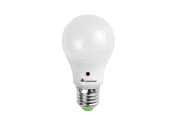 Plafoniera Esterno Con Crepuscolare : Marino cristal 21201 goccialed sensor e27 12w 230v luce bianca 6000