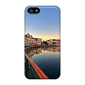 Perfect Wonderful Boardwalk Early In The Morning Case Cover Skin For Iphone 5/5s Phone Case