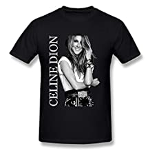 KINSIN Men's Celine Dion T-shirts