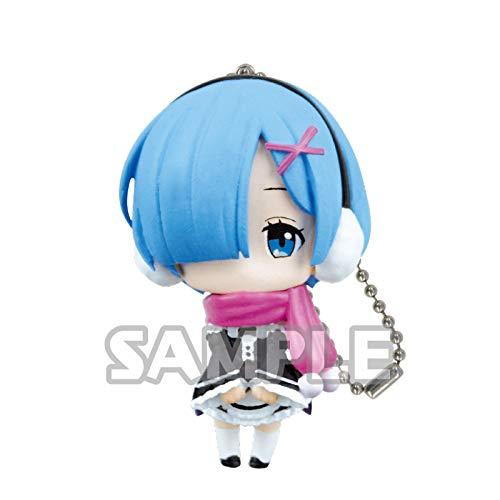 Bushiroad Re:Zero Starting Life Rem Scarf Ver. Ippai Petite Character Gacha Capsule Mini Toy Figure Key Chain Mascot Collection Anime Art ()