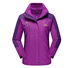 CRYSULLY Mens Spring Fall Mountain Windproof Hiking Thin Coat Outdoor Jackets Removable Hood