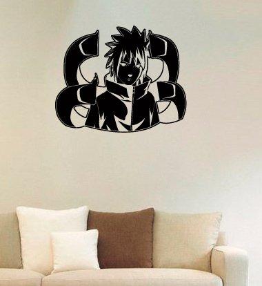 Amazoncom Uchiha Sasuke Vinyl Wall Decals Ninja Apostate