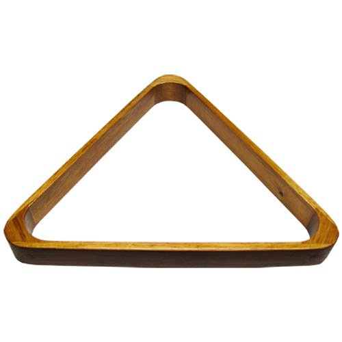 (Sterling Gaming Deluxe Wood Pool Ball Triangle,)