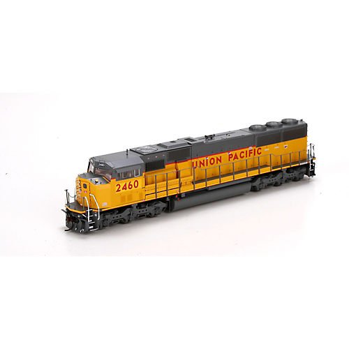 HO SD60M w/DCC & Sound, UP/Yellow Sill Stripe#2460 -  Athearn