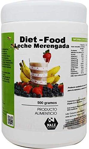 Nale Diet Food Batido, Sabor Leche Merengada - 500 gr