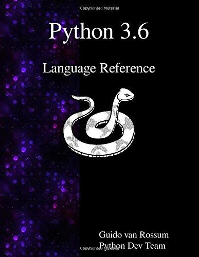 Python 3.6 Language Reference
