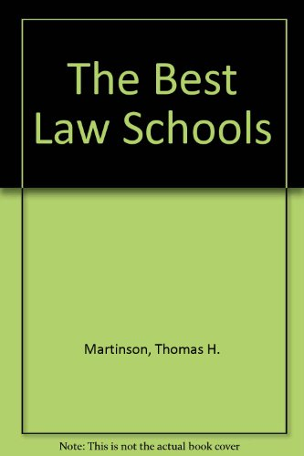 The Best Law Schools