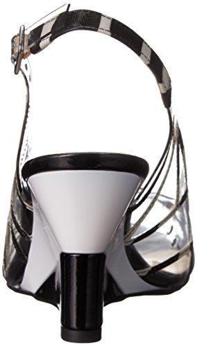 J.renee Mujeres Brendy Wedge Pump Black / White