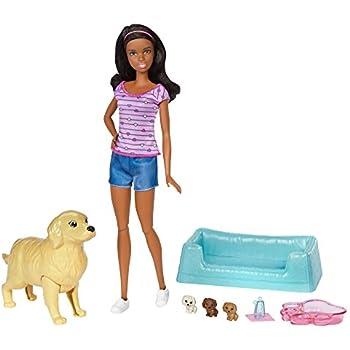 Barbie Dog Walking Doll Uk