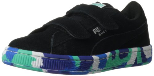 PUMA Suede Classic 2-Strap Rubber Mix Sneaker (Toddler/Little Kid/Big Kid)