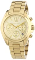 Michael Kors MK5798 Ladies Gold Mini Bradshaw Watch