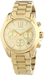 Michael Kors MK5798 Ladies Gold Mini Bradshaw Watch