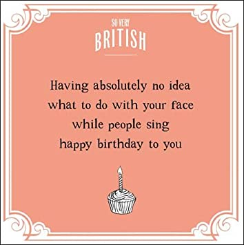 Greeting Card WDM9138 Humour Blank Birthday