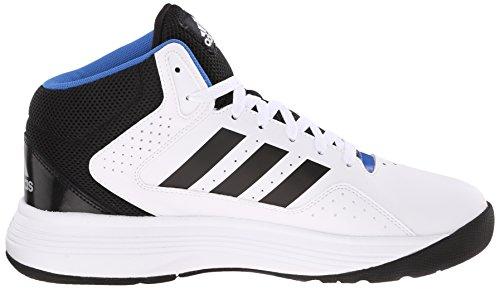 buy online bb4a0 20304 adidas NEO Mens Cloudfoam Ilation Mid Basketball Shoe,WhiteB