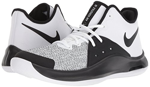 black Adulto 100 Grey Iii Blanco Zapatos De Nike Versitile Unisex Air Baloncesto dark white 0aqpv