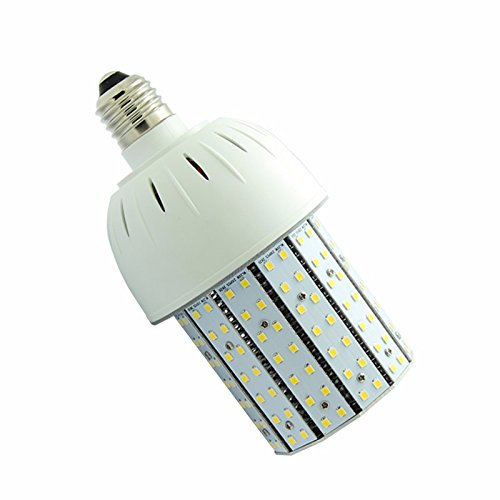 (NUOGUAN 70W Hps MH HID Equivalent 20W LED Corn Bulb Edison E26 Base Cool White 6000K 5 Years Warranty 100-277V Outdoor Security Area Wall)
