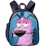 Courage The Cowardly Dog Extra Durable Backpack with Padded Straps