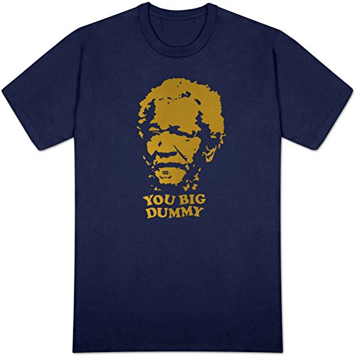 sanford-and-son-you-big-dummy-t-shirt-blue-apparel-size-large