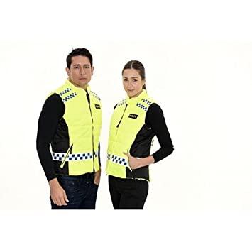 5ed05d7c9 EQUISAFETY POLITE CYCLING BIKE WAISTCOAT - HIGH VISIBILITY - FULLY  ADJUSTABLE WAIST WITH VELCRO STRAPS (3XL