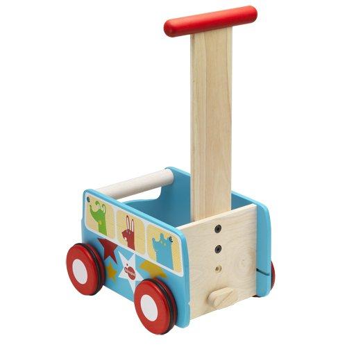 itsImagical - Natural Van, carrito de madera (Imaginarium 75391): Amazon.es: Juguetes y juegos