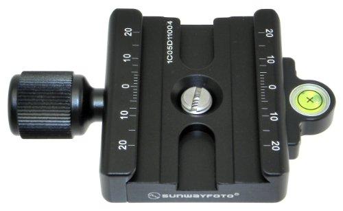 SUNWAYFOTO 60mm Clamp DDC-60 Arca Compatible DDC60 1/4