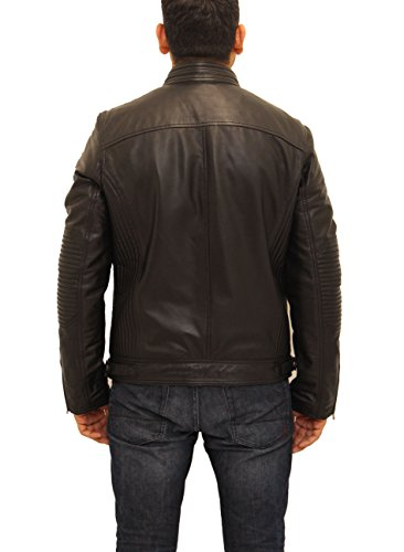 nera da elegante in collana molto moto Senza nera una Giacca pelle dTfXqqw