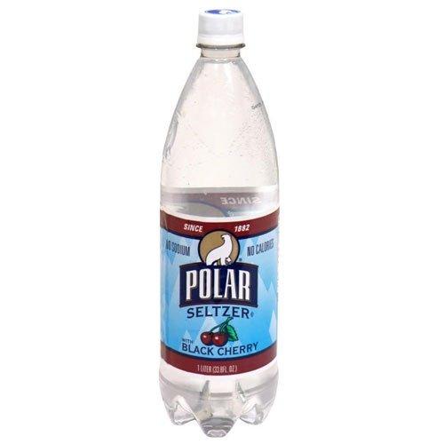 Polar Seltzer Black Cherry 1 Liter (6 Pack) by Polar Products