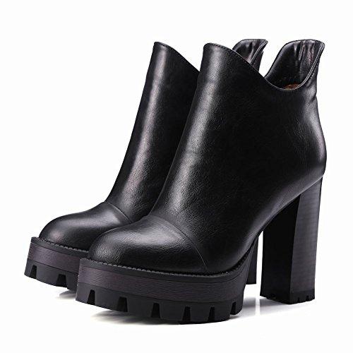 Bottines 80 Femmes MissSaSa OFF Chaussures Plateformes 1KTFlJc