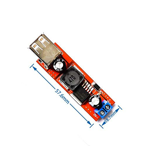 Dual USB Output 9V//12V//24V//36V to 5V Car Charger Switch 5V DC-DC 3A Buck