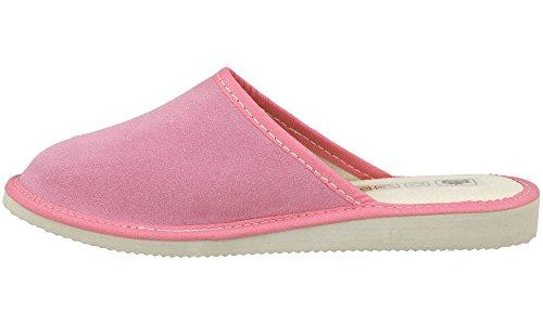 Shoes Scamosciate Da Rbj Donna Pecora Lana Imbottito Rosa Di Morbida Niente In Modello Leather Pantofole Ffxpn5wqpS