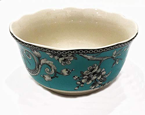 222 Fifth Adelaide Turquoise Cereal Bowls, Set of 4 ()