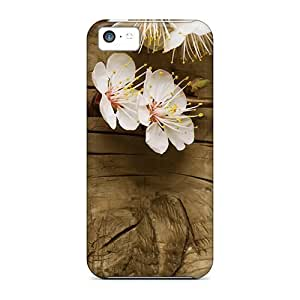 USMONON Phone cases New Style Best seller wen Spring Flowers Nature Premium Tpu Cover Case For Iphone Iphone 5c