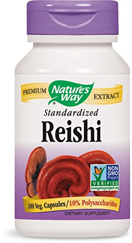 Nature's Way Reishi Capsules, 100-Count (Supplement Mushroom Reishi)
