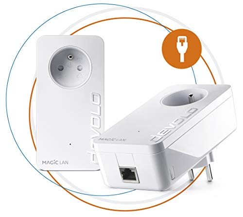 Devolo Magic 1 – Miniadaptador WiFi Blanco Blanco 2400 Mbps Magic 2