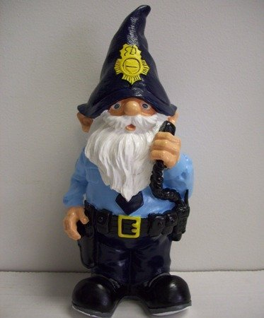 Forever Military gnomes- Policía by Forever Collectibles