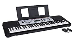 Yamaha YPT260 61-Key Portable Keyboard w...