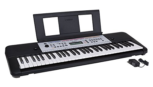 - Yamaha YPT260 61-Key Portable Keyboard with Power Adapter (Amazon-Exclusive)
