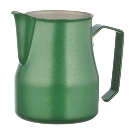 Motta Stainless Steel Professional Milk Pitcher, 50cl, Green by Motta
